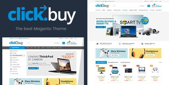 ClickBuy - Magento2 Responsive Digital Theme