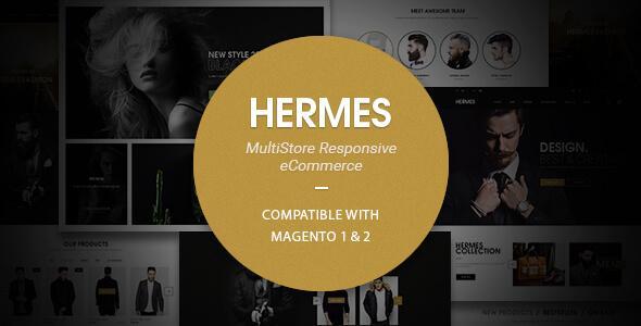 Hermes - Multi-Purpose Premium Responsive Magento 2 & 1 Theme