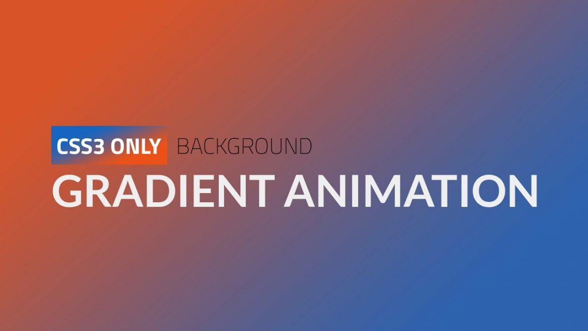 make your site more exciting with gradient animation
