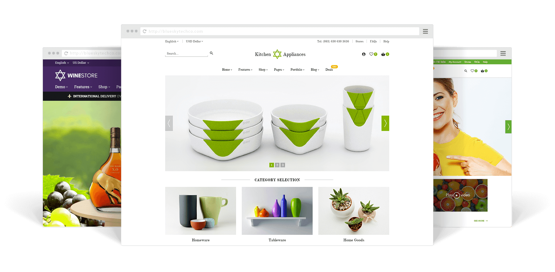 Total store - woocommerce wordpress themes
